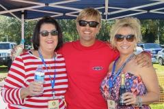 Nancy Graham, Brett Turner, and Amy Turner